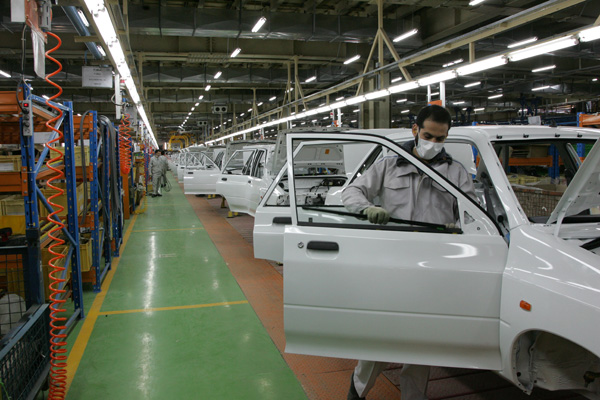 بازهم تولید خودرو در کشور کاهش یافت