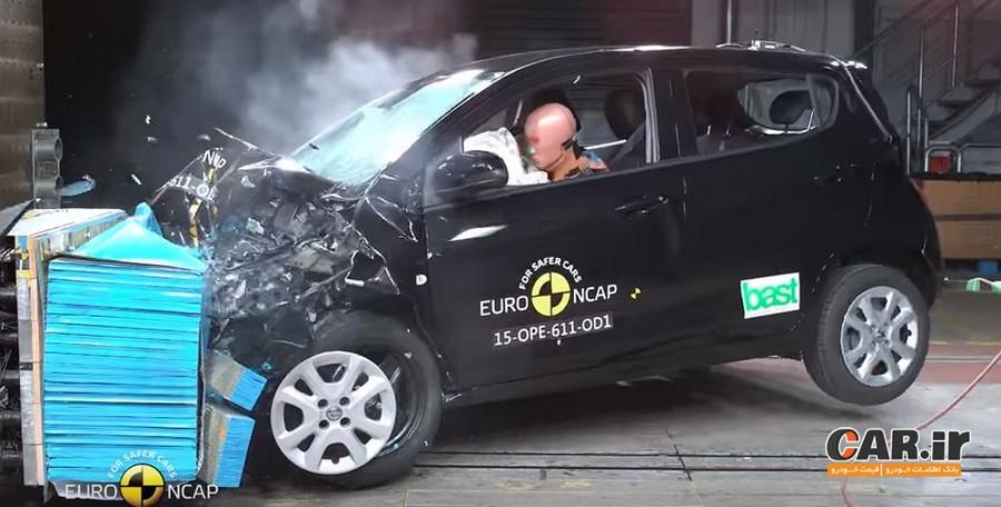معرفی ضعیف ترین خودرو های سال 2017 در تست تصادف Euroncap