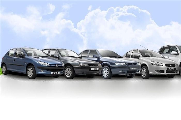 جدول قیمت انواع محصولات ایران خودرو ۲۷ شهریور ۹۷