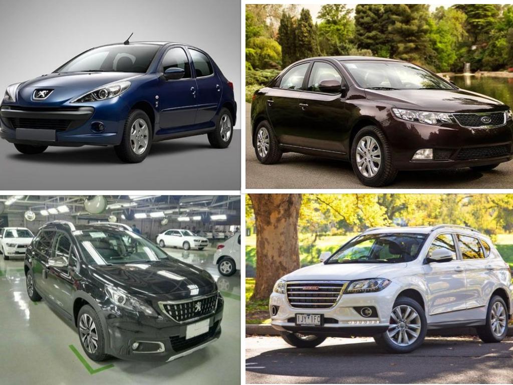ابهام در ادامه تولید محصولات 4 ستاره بازار خودرو ایران