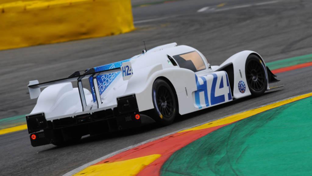 معرفی اولین خودروی هیدروژنی مسابقات لمانز ؛ گرین GT LMPH2G
