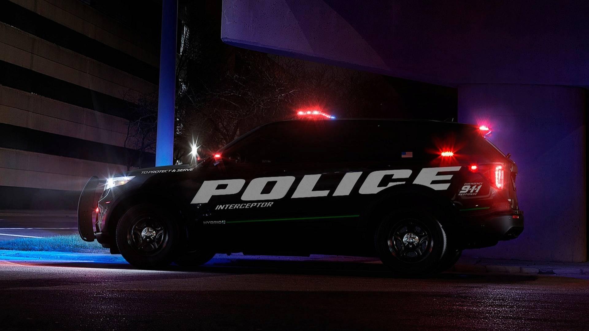 فورد سریعترین ماشین پلیس جهان را معرفی کرد