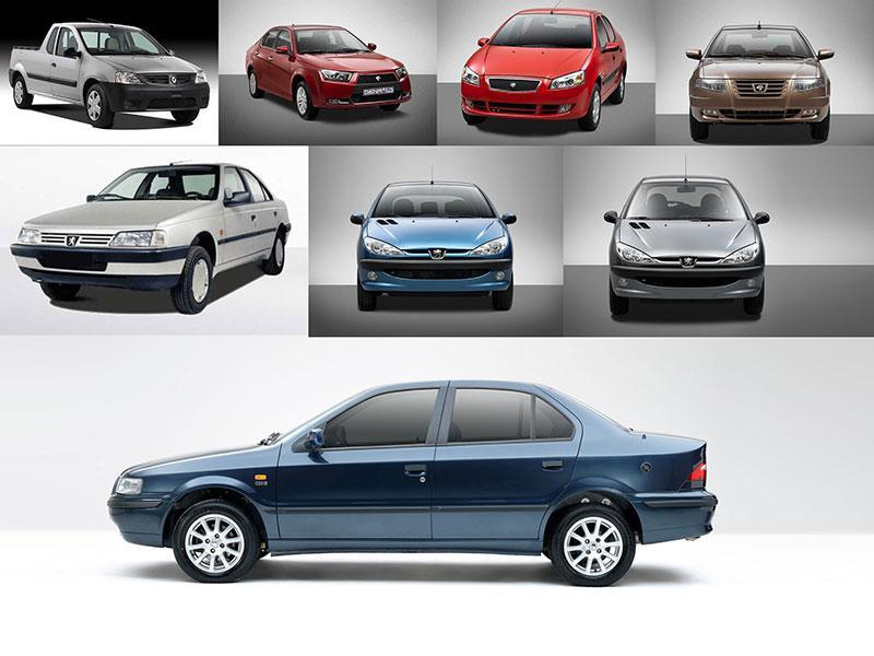 جدول قیمت جدید خودرو در بازار تهران دیروز شنبه 12 آبان
