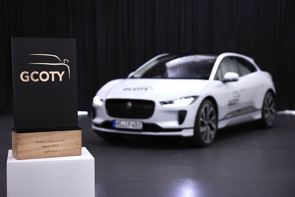انتخاب جگوار آی پیس به عنوان خودروی سال 2018 آلمان