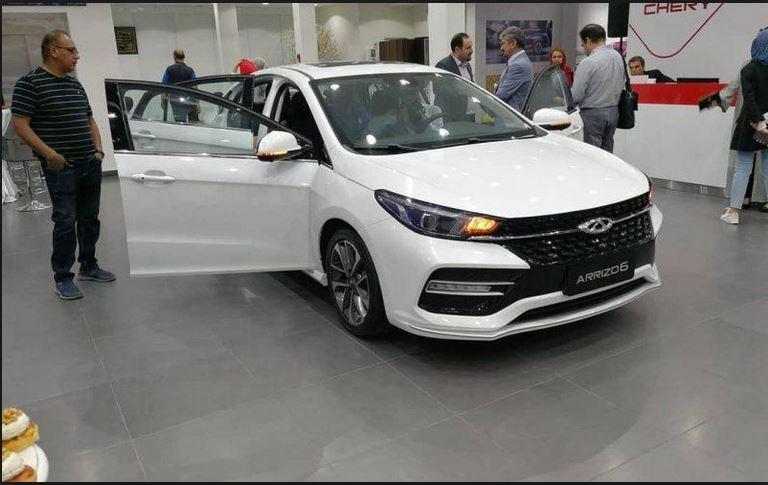 خودروی جدید چری آریزو6 در یک قدمی ورود به بازار