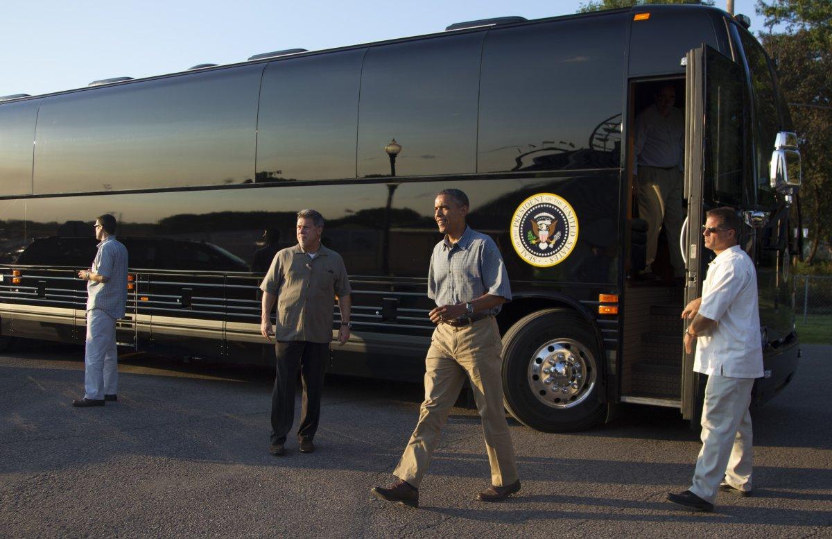 ماشین رییس جمهور آمریکا