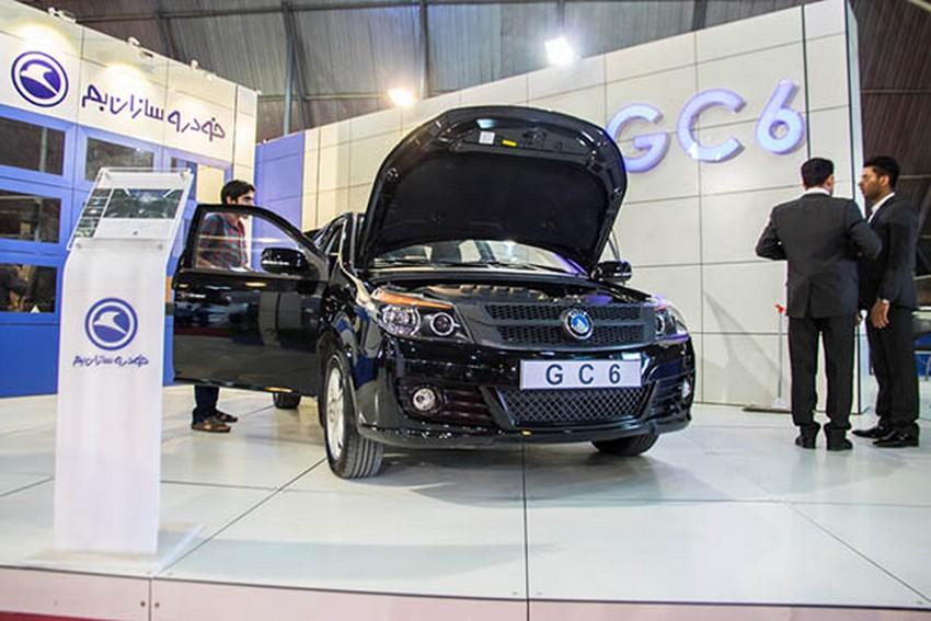 جیلی gc6 با قیمت کمتر از 50 میلیون تومان