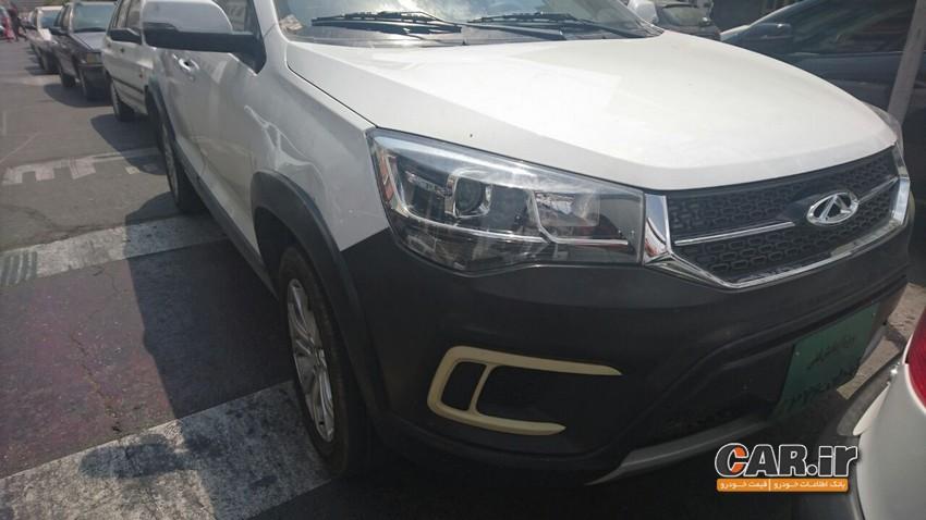 خودرو های جدید چری در ایران