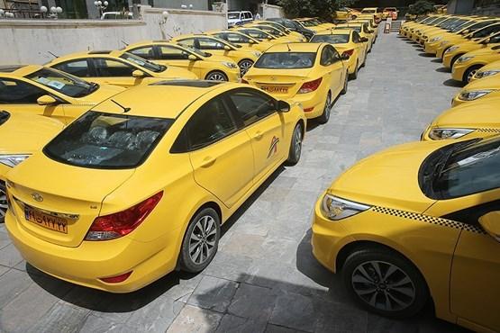 هیوندای اکسنت در ناوگان تاکسی رانی تهران