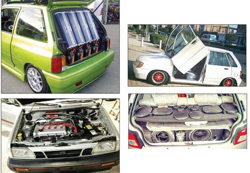 روایتی از اسپرت کردن خودرو ها در ایران
